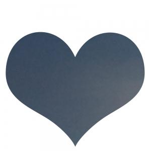 Herz, blau