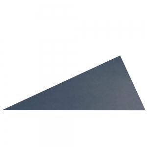 Rechtwinkliges blaues Dreieck 2