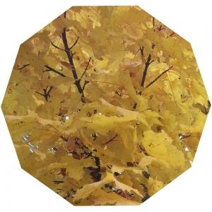 Gelbes Zehneck